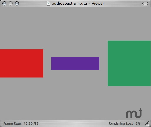 Screenshot 1 for audiospectrum