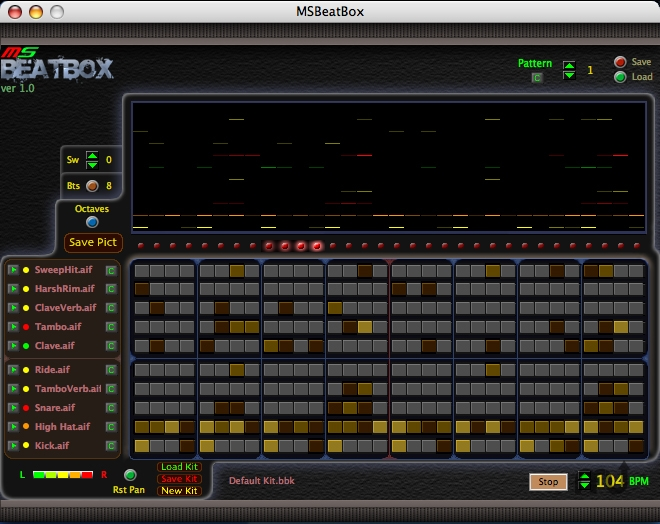 Screenshot 1 for MSBeatBox