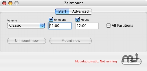Screenshot 1 for Zeitmount
