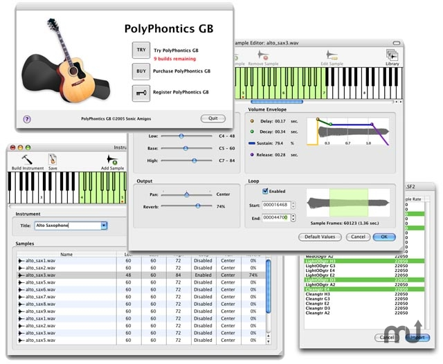 Screenshot 1 for PolyPhontics GB