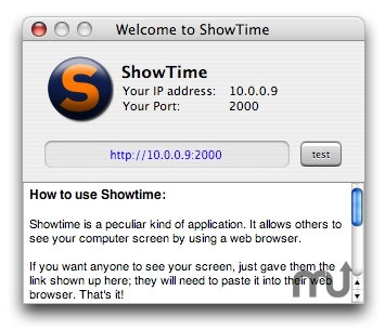 Screenshot 1 for ShowTime