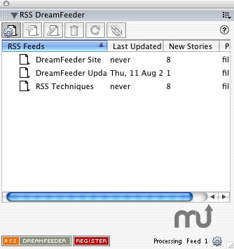 Screenshot 1 for RSS Dreamfeeder