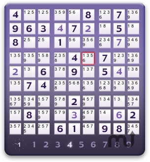 Screenshot 1 for Sudoku Widget