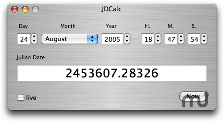 Screenshot 1 for JDCalc