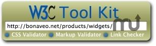 Screenshot 1 for W3C Tool Kit