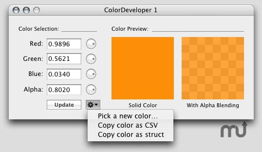 Screenshot 1 for ColorDeveloper