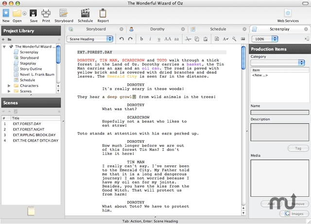 free script writing software mac Writerduet is free professional screenwriting software used by top hollywood screenwriters for writing and formatting tv scripts and film screenplays.