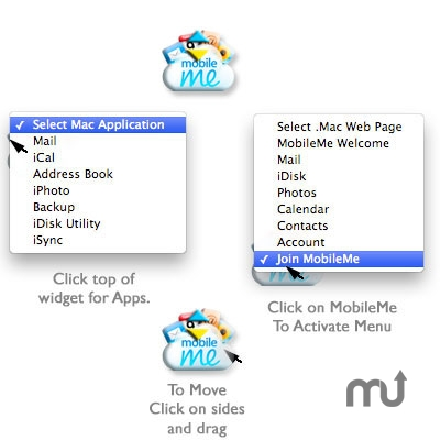 Screenshot 1 for MobileMe Button