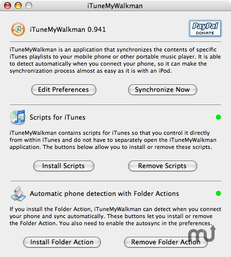 Screenshot 1 for iTuneMyWalkman