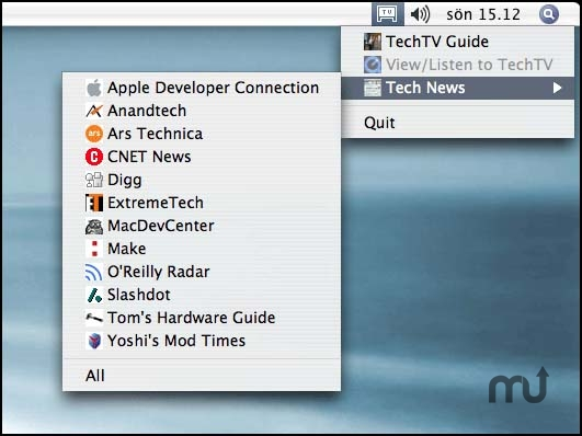 Screenshot 1 for TechTv.app