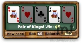 Screenshot 1 for VideoPoker