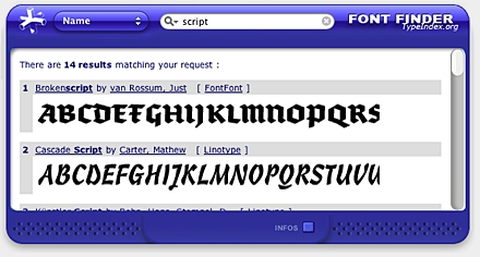 Screenshot 2 for Font Finder