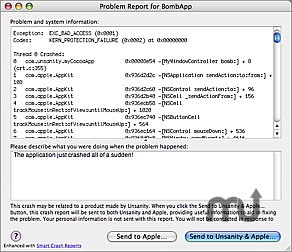Screenshot 1 for Smart Crash Reports