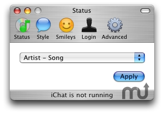 Screenshot 1 for iChat Extender