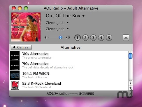 Screenshot 1 for AOL Radio