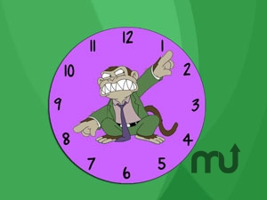 Screenshot 1 for Evil Monkey Clock