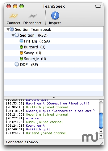 Screenshot 1 for TeamSpeex