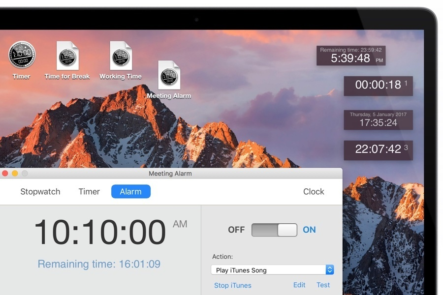 Screenshot 1 for Apimac Timer