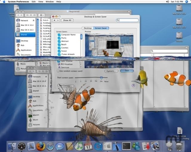 3d desktop aquarium screen saver 1 9 free download for mac for Cuisine 3d mac os x