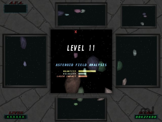 Screenshot 1 for 3D Asteroids
