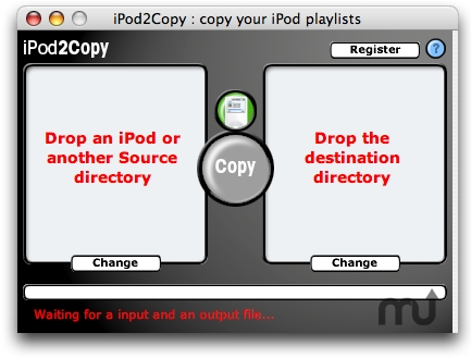 Screenshot 1 for iPod2Copy