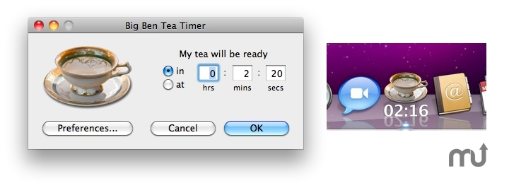 Screenshot 1 for Big Ben Tea Timer