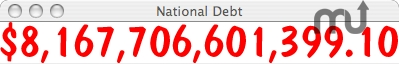 Screenshot 1 for National Debt