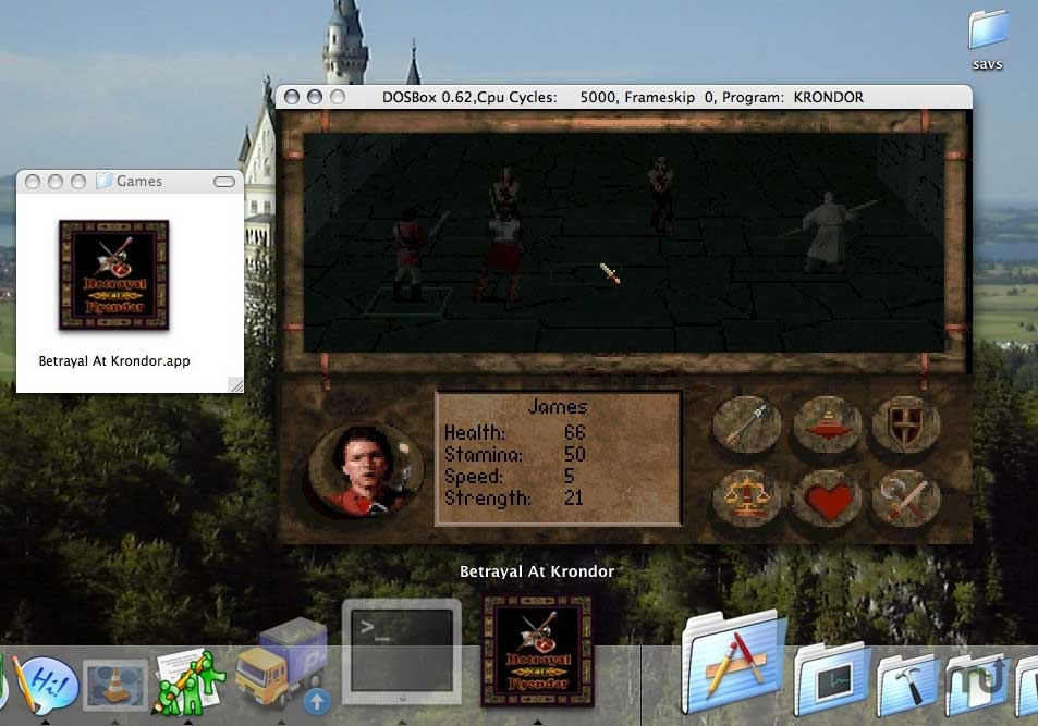Screenshot 1 for Betrayal at Krondor
