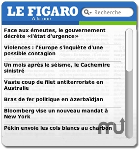 Screenshot 1 for Le Figaro