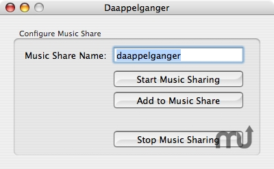 Screenshot 1 for daappelganger