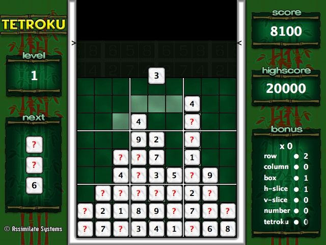 Screenshot 1 for Tetroku