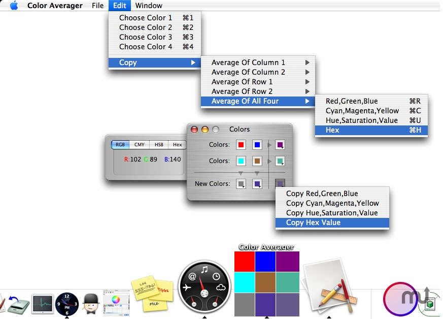 Screenshot 1 for Color Averager