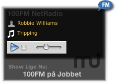 Screenshot 1 for Radio 100 FM Widget
