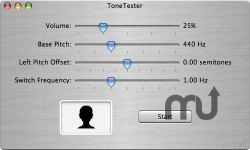 Screenshot 1 for ToneTester
