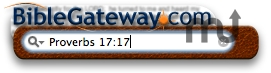 Screenshot 1 for Bible Gateway Widget