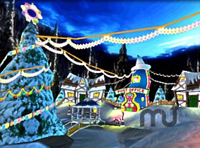 Screenshot 1 for Christmas Village Screen Saver