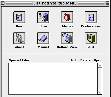 Screenshot 1 for List Pad (68K)