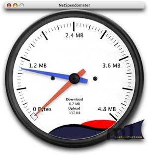 Screenshot 1 for NetSpeedometer