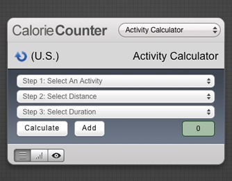 Screenshot 1 for Calorie Counter