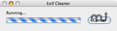 Screenshot 1 for iPhoto Exif Cleaner