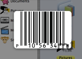 Screenshot 1 for Bar Code Clock
