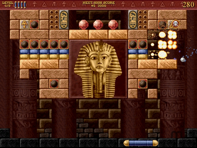 Screenshot 1 for Bricks of Egypt