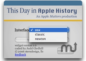 Screenshot 1 for This Day in Apple History