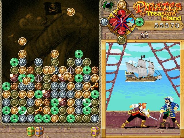 Screenshot 1 for Pirates of Treasure Island