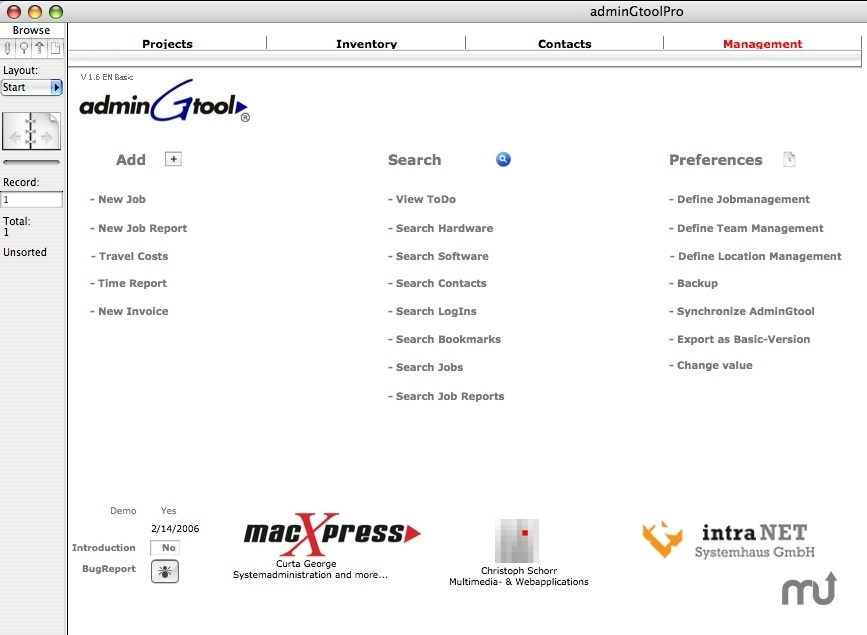 Screenshot 1 for adminGtool Basic