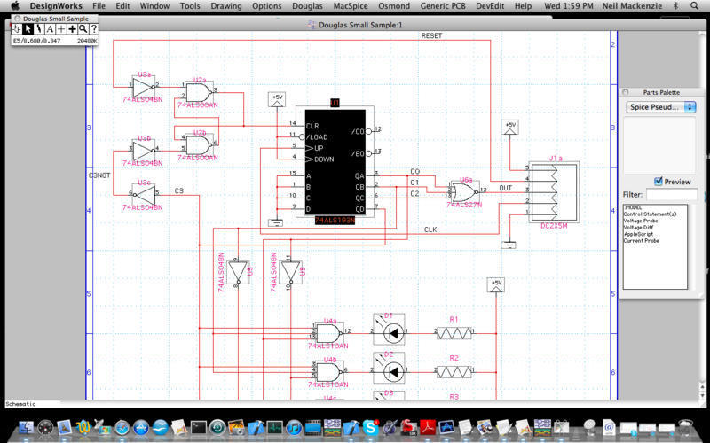 Screenshot 1 for DesignWorks Professional