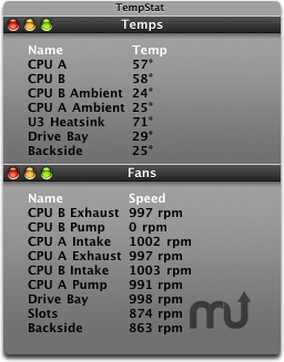 Screenshot 1 for TempStat