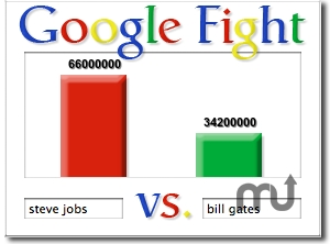 Screenshot 1 for Google Fight