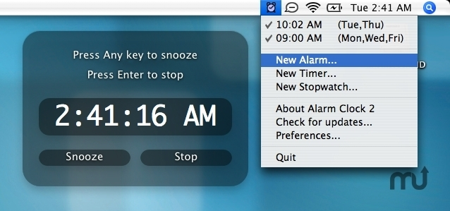 download alarm clock for mac os x