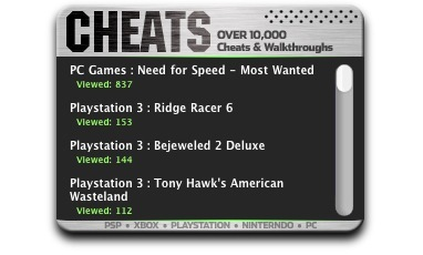 Screenshot 2 for Cheats